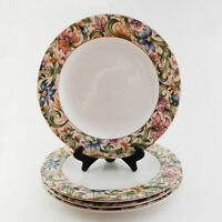 Royal Doulton Everyday Dinner Plates SET of 4 JACOBEAN 10 5/8""