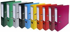 Exacompta Prem'Touch PVC Lever Arch Files, A4, 50mm Spine, 5 Asstd Vivid Colours
