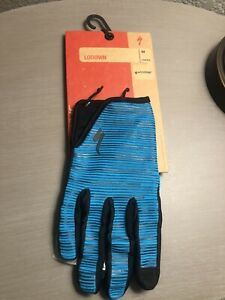 Specialized Lodown Glove LF Long Finger Aqua Medium Cycling Men's MTB