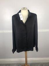 Women's Vero Moda Blouse Size XL UK 14 16 Black Long Sleeve BNWT