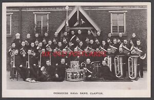 London E5 - CLAPTON, Salvation Army Congress Hall Band, Real Photo