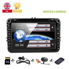 "8"" VW Golf MK5 MK6 Jetta Car Stereo Radio DVD Sat Nav GPS Bluetooth OEM-Style UI"