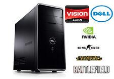 Dell Gaming PC AMD Quad Core 3.2GHz| 8GB RAM| 4GB Geforce Graphics| 750GB HD