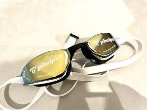 NEW! Xceed Goggles Michael Phelps Swimming Aqua Sphere Pool Outdoors Swim Mirror