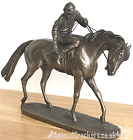 'On Parade' by David Geenty bronze ornament racehorse figurine horse lover gift