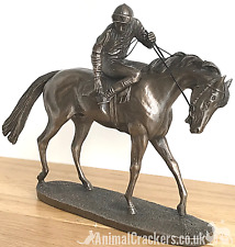 More details for 'on parade' by david geenty bronze ornament racehorse figurine horse lover gift