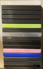 LOT Of 20 Empty DVD Cases With Wrap Around Sleeves - mixed colors and styles
