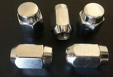 FORD F100 PARTS CHROME F100 / F150 BRONCO WHEEL NUTS X 5 NEW 1/2 INCH NUT