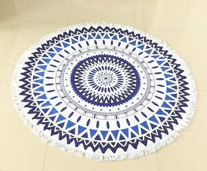 100% COTTON thick soft terry towel  Round Beach Towel 150*150cm/59*59'' Bath Tow