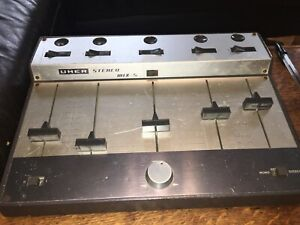 Vintage Uher Stereo Mix-5 Mixer