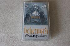 Behemoth - Evangelion LTD Silver MC KASETA  - POLISH RELEASE