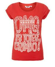 Teens Red OMG Crimbo T-Shirt New Look Red Girls Age 8-9 Years Box41 61 G