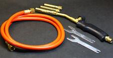 Turbobrenner Lötbrenner Set Gasbrenner zum hartlöten und weichlöten