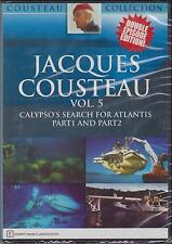 JACQUES COUSTEAU - VOL. 5 - CALYPSO'S SEARCH FOR ATLANTIS - DVD