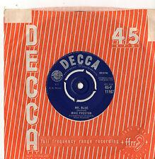 """Mike Preston - Mr Blue 7"""" Single 1959"""