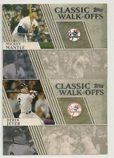 2012 Topps Classic Walk-Offs Set of 15