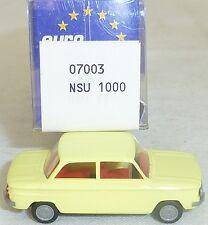 NSU TT VOITURE PARTICULIÈRE jaune soufre IMU/EUROMODELL 07003 H0 1/87 # LL1 å