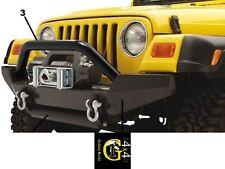Supporti Per Highrock Paraurti Acciaio Nero Jeep Wrangler Yj Tj 87-06