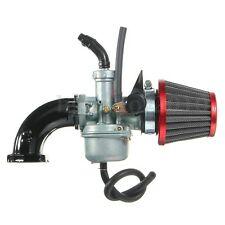 22mm PZ22 Carburateur Filtre à air Tuyau d'admission Pr Honda Dirt Pit Bike ATV
