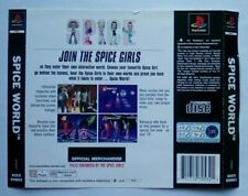 ***BACK INLAY ONLY*** Spice World Spice Girls Playstation One 1 PSOne PS1 PS PSX