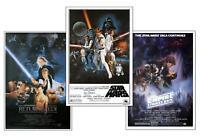 Star Wars Posterset Filmplakat Episode IV - VI 61 x 91,5 cm Plakat Wandbild Deko