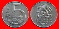 5 KORUN 1993 REPUBLICA CHECA-22101