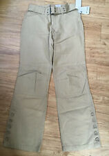 Retro Cotton Columbia Vertex Trousers Cargo Combats Pants Khaki Utility Size 10