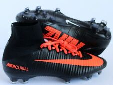 NIKE MERCURIAL SUPERFLY FG ID BLACK-INFRARED RED SZ 6 [845894-997]