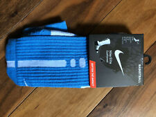 Nike Elite Crew Basketball socks Women's 6-10 BRAND NEW CAROLINA BLUE