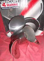 Mercury Vengeance 13 3/4 x 21 Left Hand Stainless Steel Propeller 48-16319 (B28)