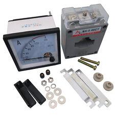 Us Stock Ac 0100a Analog Amp Current Panel Meter Ammeter Amp Current Transformer