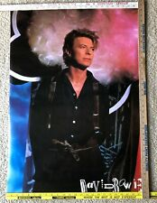 Vintage David Bowie Poster 1987 New 24� x 36�