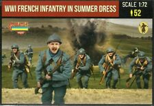 Strelets 1/72 (20mm) WWI French Infantry in Summer Uniforms