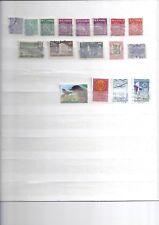 Lot de 17 timbres oblitérés FINLANDE 01