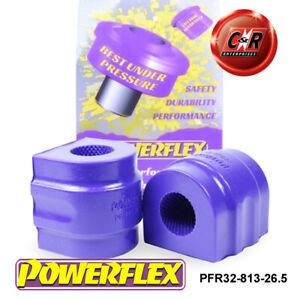 PFR32-813-26.5 Powerflex For L. Rover Range Rover L322 02-12 RrARB Bushes 26.5mm