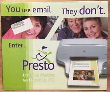HP Presto Printing Mailbox (PPM10) Email & Photos Without a PC **NEW-READ**
