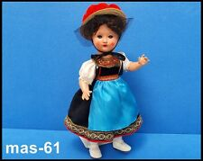 Masa vieja muñeca muñeca 30/40er años gemarkt 38 cm Doll bebe