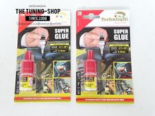 2 x 5g Very Strong Super Glue Adhesive Glass Rubber Metal Wood Porcelain Ceramic
