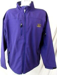East Carolina Pirates Men 2XL Embroidered Full Zip Soft Shell Jacket NCAA 41