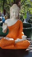 Buddha Budda Groß Statue Feng Shui Garten Figur Wetterfest Deko Tempelwächter CO
