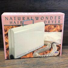 NOS Dazey Natural Wonder Soft Bonnet Hair Dryer ~ HD31 NEW IN BOX 1970s
