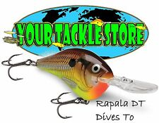 Rapala DT16 Dives To Pick Color & Qty Factory Direct DT 16 NIB