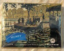 MONET Piatnik Austria - Set of Playing Card Decks In Box #2255 - Sealed NEW