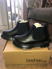 BOOHOO Chunky Chelsea Boots Size 5 BRAND NEW IN BOX