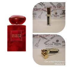 Armani Prive Rouge Malachite - 17ml/0.57oz Perfume extract based EDP, Decanted