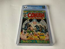 CONAN THE BARBARIAN 22 CGC 9.2 WHITE PAGES GREAT COVER BARRY SMITH MARVEL COMICS