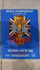 More details for world cup final 1966 england vs west germany original programme very collectable