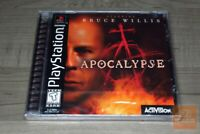 Apocalypse (PlayStation 1 PS1 1998) FACTORY SEALED! - RARE!