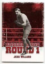 2010 RINGSIDE BOXING ROUND 1 BASE Jess Willard #32