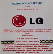 LG 55LA620V  SCREEN LA62M55T120V12  25 PIECE LED REPAIR KIT READ ADVERT